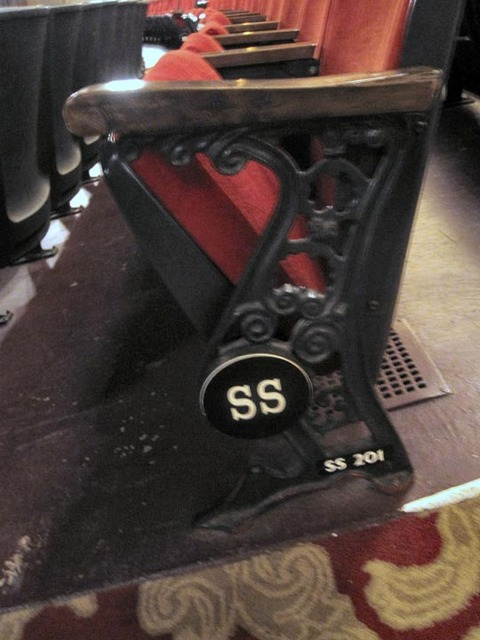 State Theatre (Cleveland) - Seat End