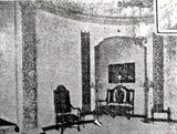 KENOSHA Theatre mezzanine, entry to Mens Lounge.