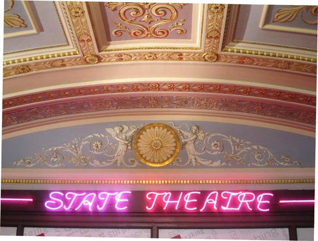 State Theatre (Cleveland) - Sign at entrance to grand lobby
