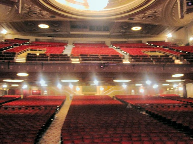State Theatre (Cleveland) - Auditorium from stage