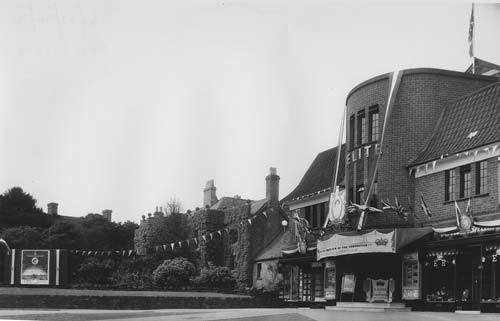 Elite cinema Uttoxeter 1953