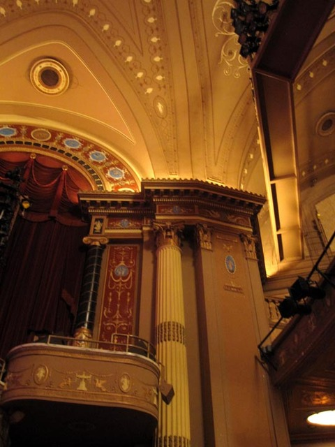 State Theatre (Cleveland) - Left Organ Screen