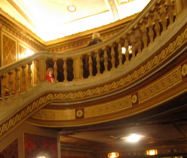 State Theatre (Cleveland) - Upper part of inner foyer