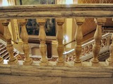 State Theatre (Cleveland) - Closeup of marble railing in inner foyer