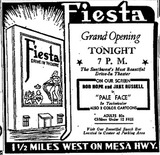 Fiesta Grand Opening Ad