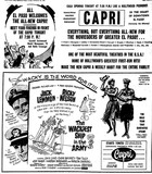 Capri Grand Opening Ad