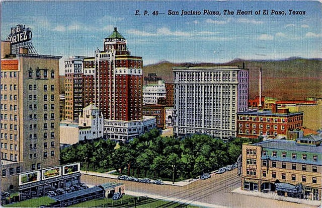 San Jacinto Plaza & Crawford Theatre