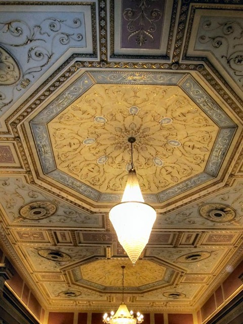 State Theatre (Cleveland) - Grand Lobby ceiling