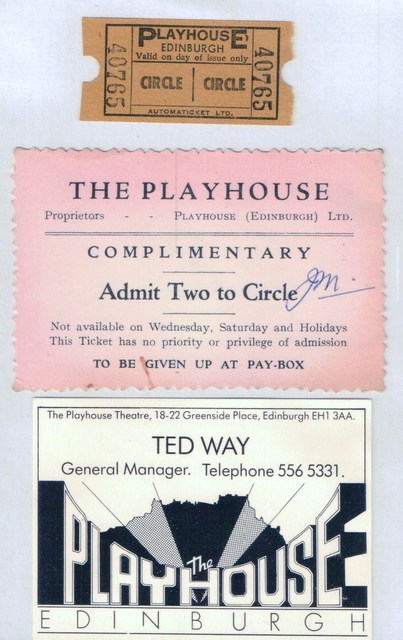Playhouse memorabilia