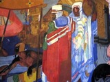 State Theatre (Cleveland) - Detail of lobby mural