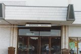 <p>Boston mall In westroads. This is the doors to the Hallway that was the six West theatre.</p>