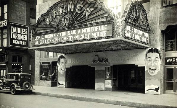 WARNER Theatre (later GRAND CINEMAS 1 & 2); Milwaukee, Wisconsin.