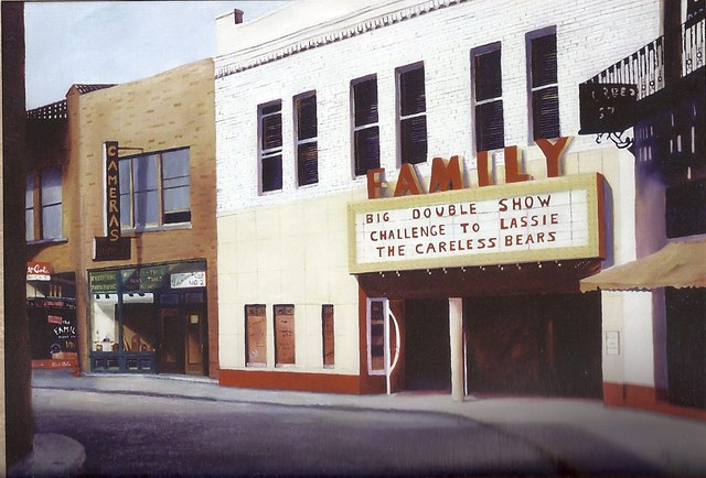 Family Theater, Jackson, Michigan 