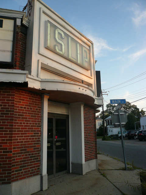 Islip Theater Front Entrance