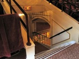 Palace Theatre (Cleveland) - stairway down from balcony