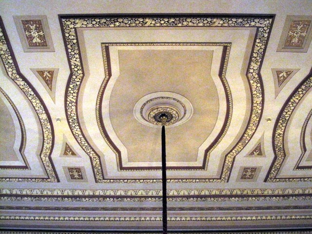 Palace Theatre (Cleveland) - Ceiling Detail, Grand Lobby