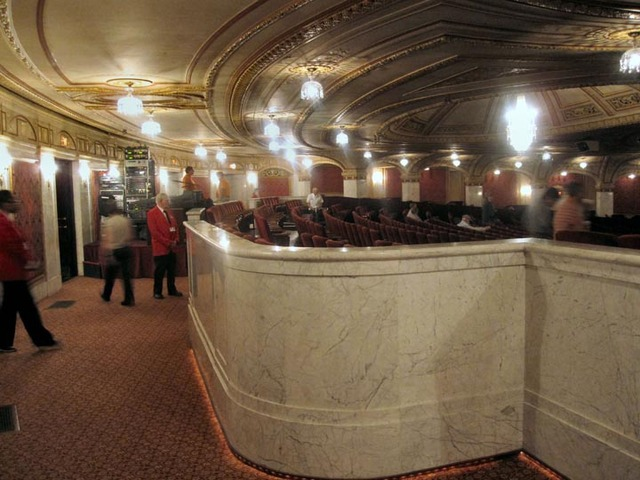 Palace Theatre (Cleveland) - Rear of orchestra section