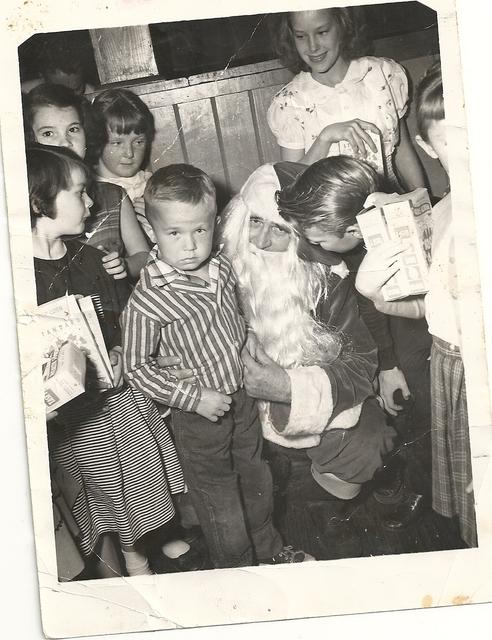 1953 Me and Santa