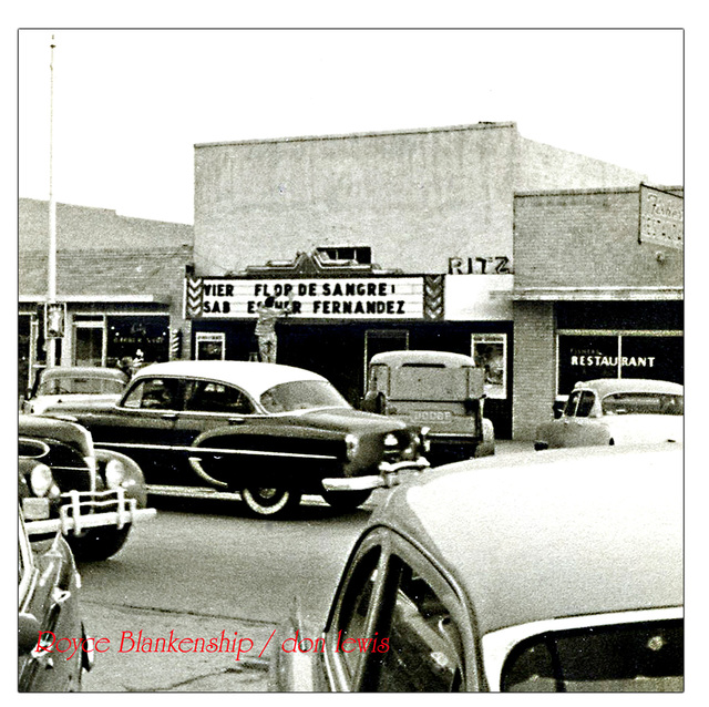Ritz Theater...Littlefield Texas