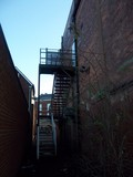 The steps up to the projection rooms, Regal Litchfield 16/12/ 2012.