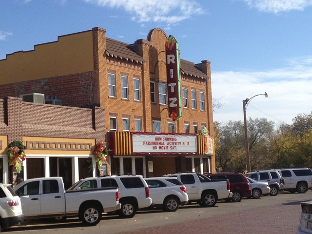 Ritz Theatre Wellington, Texas