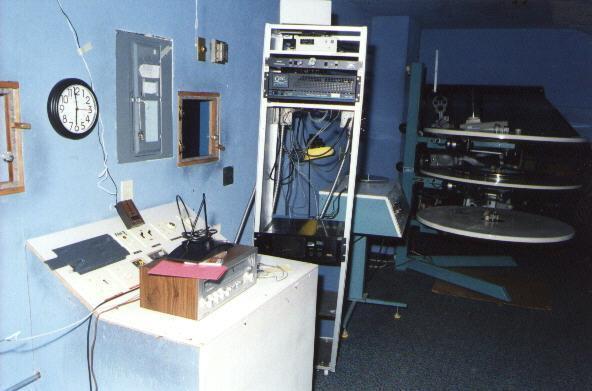 Looking toward booth 2 equipment