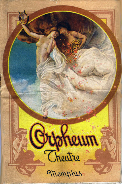 Orpheum Theatre Program, January 1914