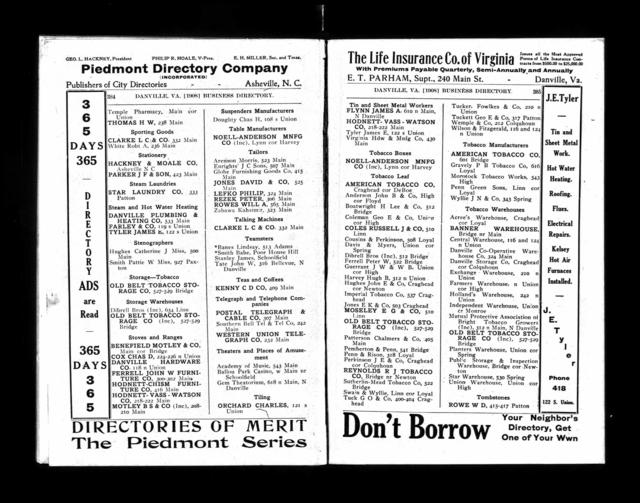 1908 City Directory