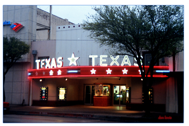 Texas Theater...Hillsboro Texas