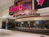 The front entrance to AMC Neshaminy Mall