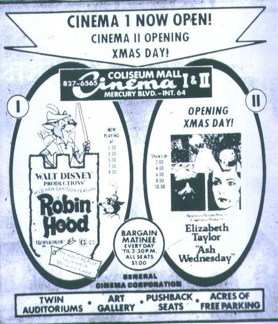 Grand Opening Dec. 24, 1973