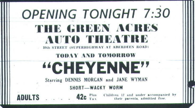 Green Acres Drive-In