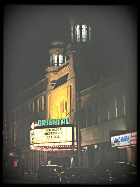 ORIENTAL Theatre; Milwaukee, Wisconsin, 12/19/2012.