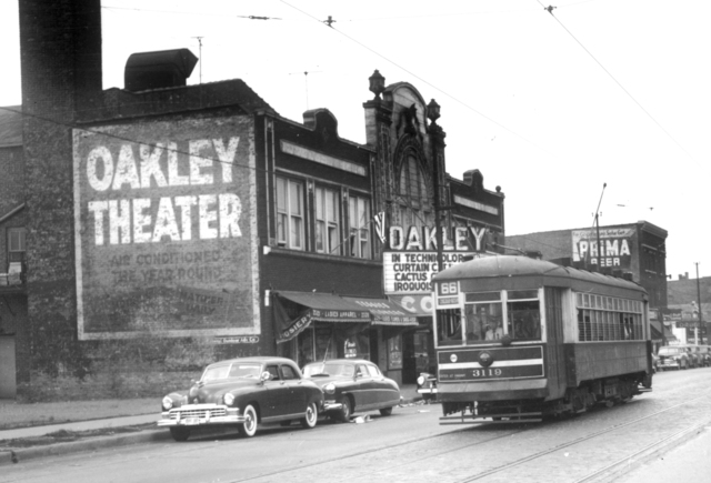 Oakley Theater, September 1950