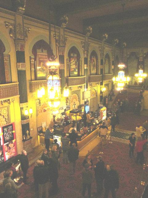 ORIENTAL Theatre grand lobby; Milwaukee, Wisconsin.