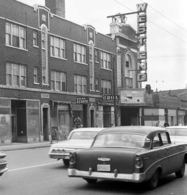 West End Theater on Cicero Avenue