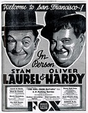 Laurel & Hardy at the Fox