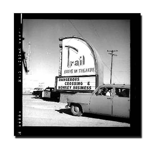 Trail Drive-In...Fort Stockton Texas