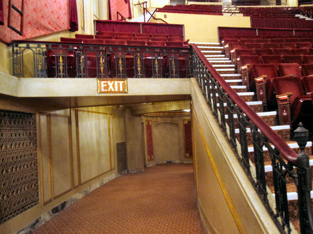Palace Theatre (Cleveland) - Exit from Balcony