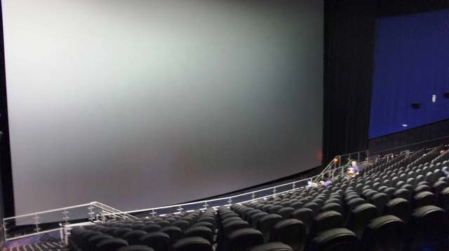 Inside the IMAX