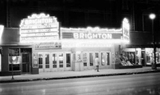 Brighton Theater Marque at Night