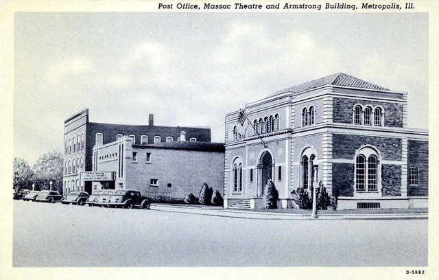 MASSAC Theatre; Metropolis, Illinois.