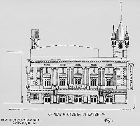 NEW VICTORIA (VIC) Theatre; Chicago, Illinois.