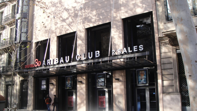 Cines Aribau Club