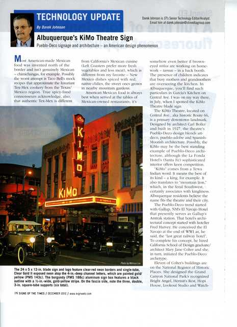 Signs of the Times, 12/2012, Page 1 of 2