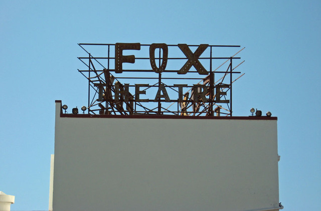 Fox Theatre Sign