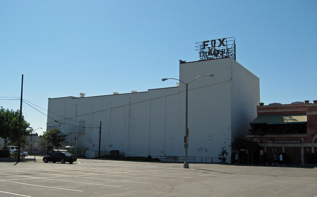 Fox Auditorium Exterior