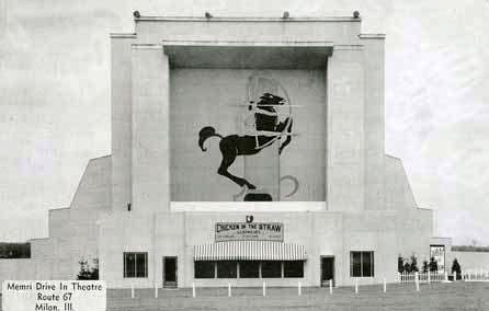 MEMRE Drive-In Theatre; Milan, Illinois.