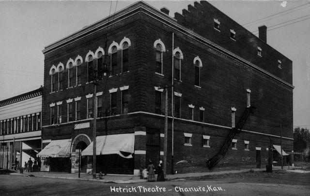 HETRICK Theatre; Chanute, Kansas.