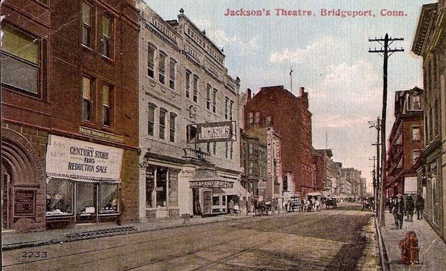 JACKSON'S (PARK) Theatre; Bridgeport, Connecticut.